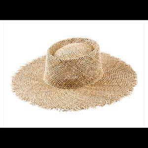 "c9af29863c874 Accessories - ""Lack of Color"" Sunnydip Fray Boater Hat"